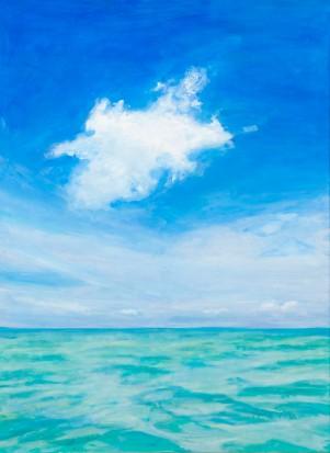 Cloud over St. Maarten