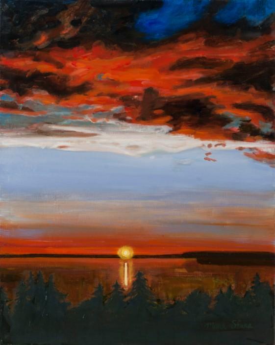 Bob & Gary's sunset